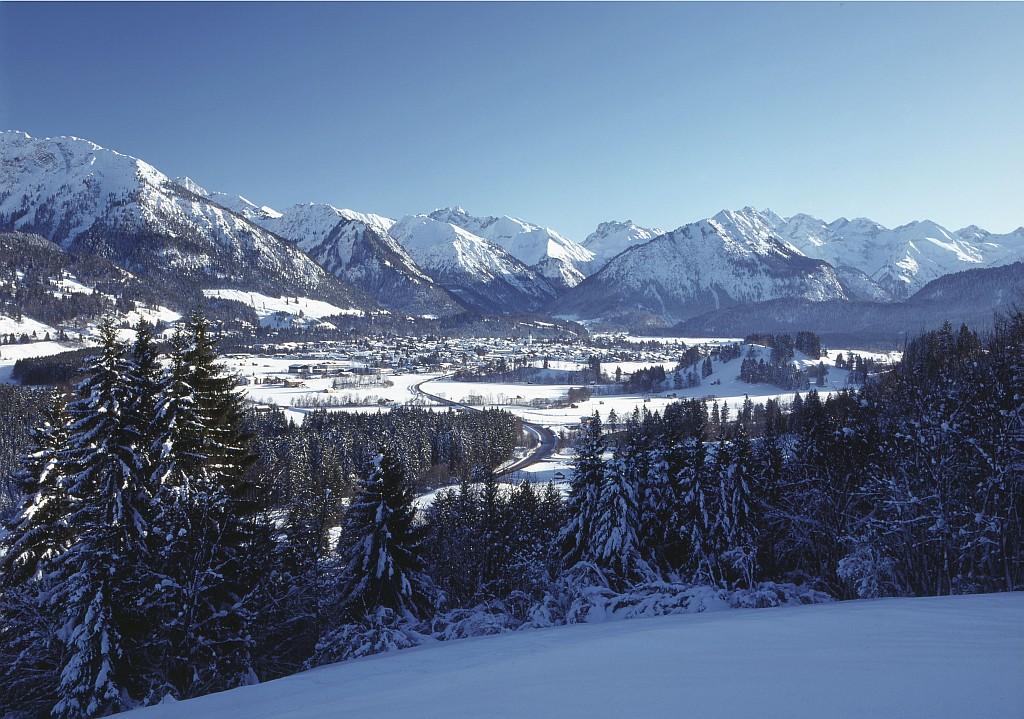 Oberstdorf, ein Wintermärchen