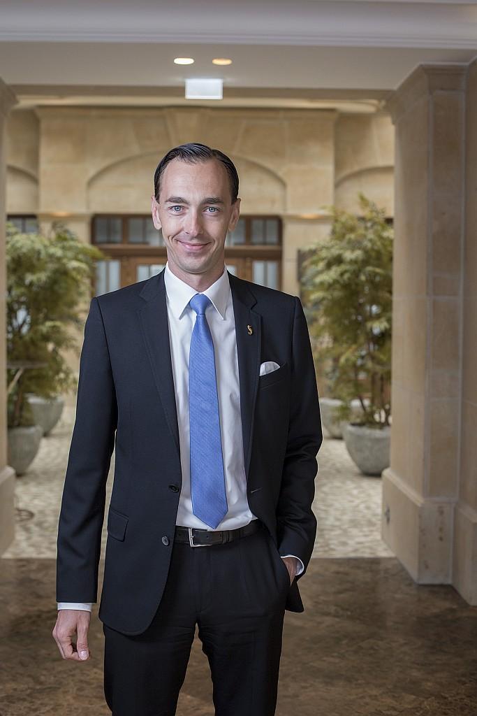 Hoteldirektor Florian Leisentritt