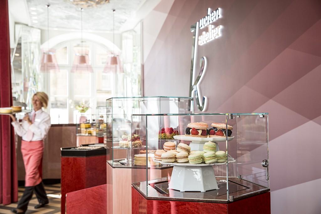 Kuchen Atelier direkt im Gewandhaus Dresden
