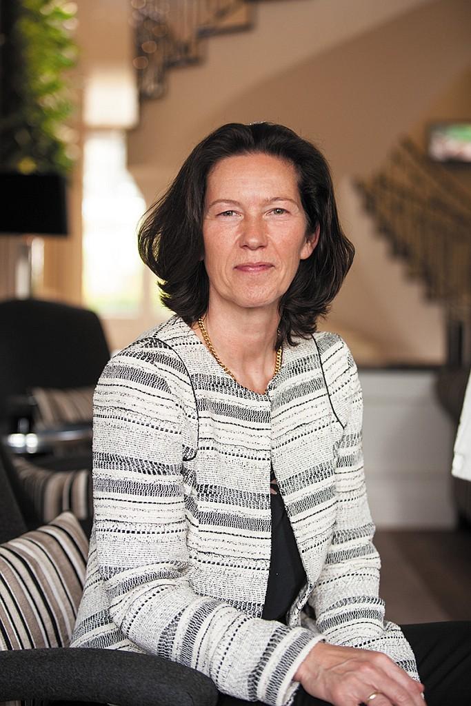 Hoteldirektorin Susanne Kiefer