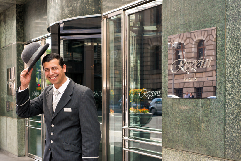 Regent Berlin Doorman
