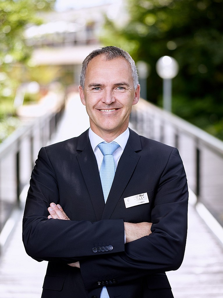 Hoteldirektor Peter Schwarz