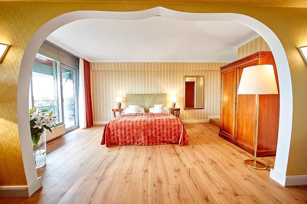 Die Zimmer und Suiten des Cliff - behaglich und chic
