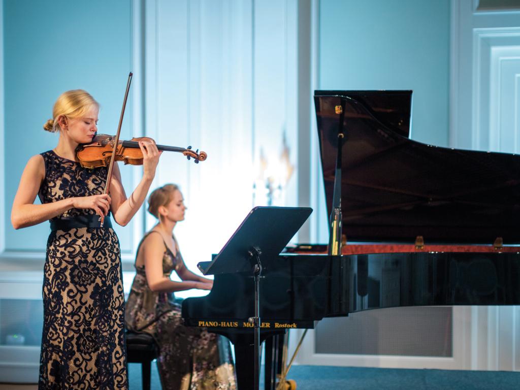 Klassisches Konzert im historischen Ballsaal