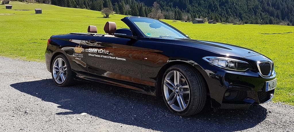 Mit dem BMW Cabrio die Umgebung erkunden