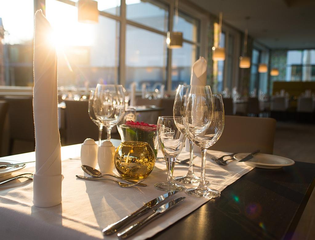 Königlich speisen im Hotelrestaurant