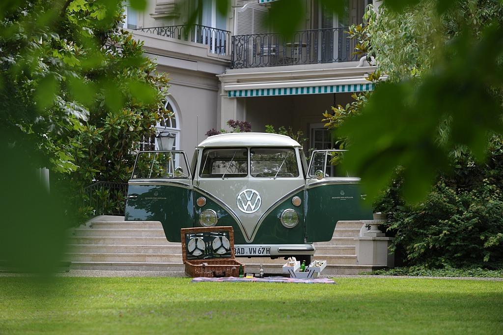 Landpartie mit VW-Samba