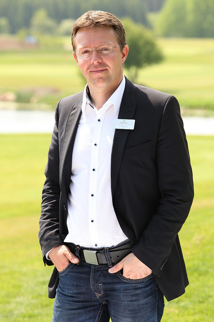 Golfmanager Thomas Mönch