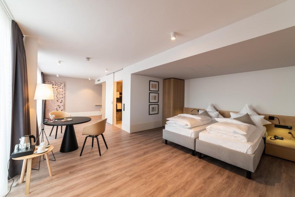 Barrierefreie und stilvolle Zimmer