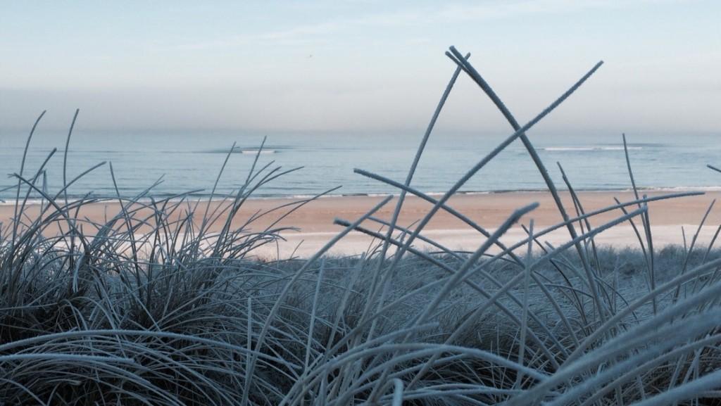 Sylt im frostigen Winter