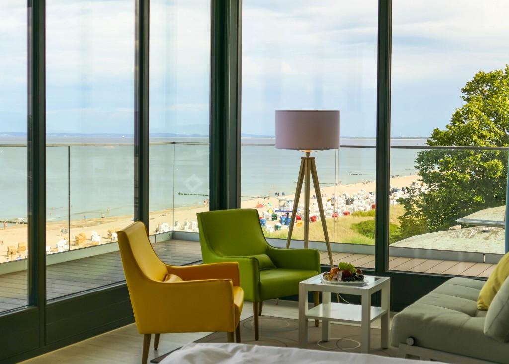 DAs neue SEETELHOTEL Kaiserstrand Beachhotel Bansin Mitte verbindet Lifestyle und Kultur