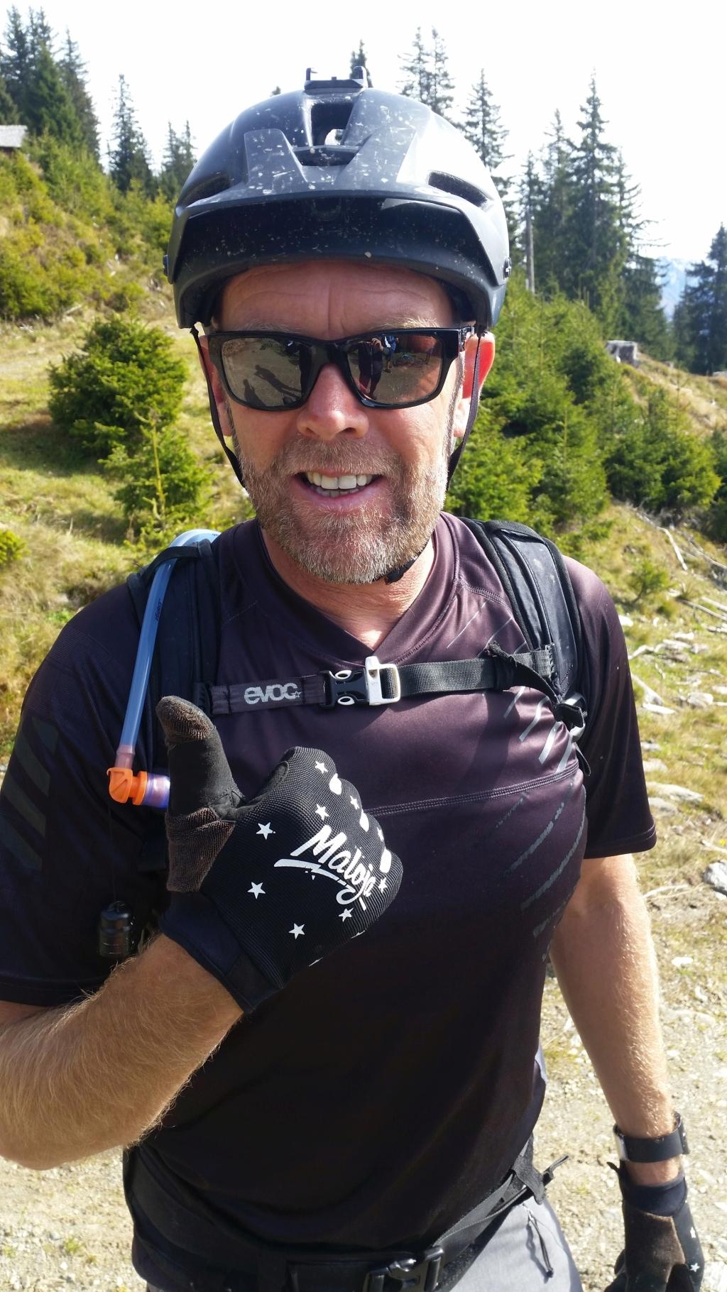 Robert, ausgebildeter MTB-Guide im Almhof