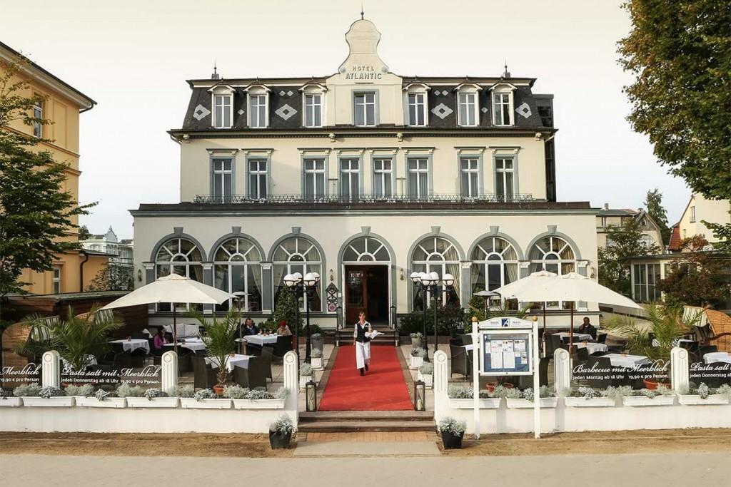 Das Strandhotel Atlantic, ein echtes Kleinod an der Ostsee