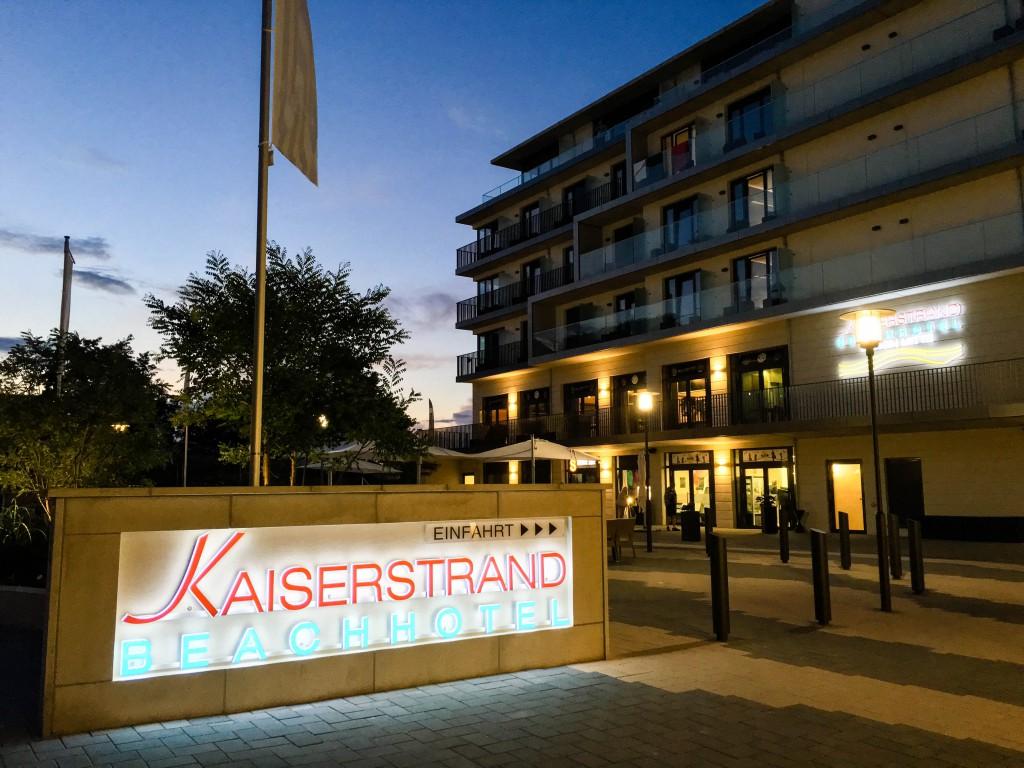 DAs neue SEETELHOTEL Kaiserstrand Beachhotel Bansin Mitte