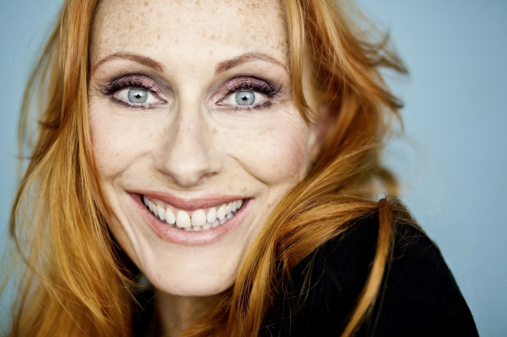TV-Star Andrea Sawatzki ist am 1.4. in Bad Elster