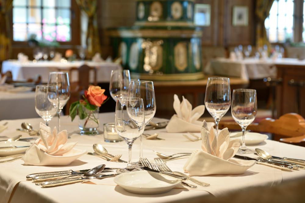 Raffinierte Tiroler Alpen- und Wellnessküche um das Küchenteam von Thomas Strasser