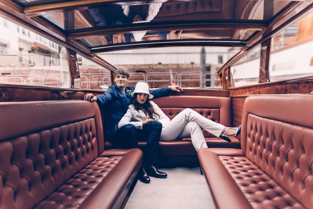 Die Cabrio-Limousine Bellini besticht durch Mix aus Leder und Mahagoni