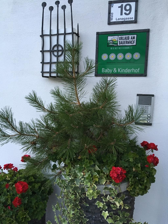 Der Lenerle-Hof in Arzl - der einzige 5 Blumen-Bauernhof im Pitztal