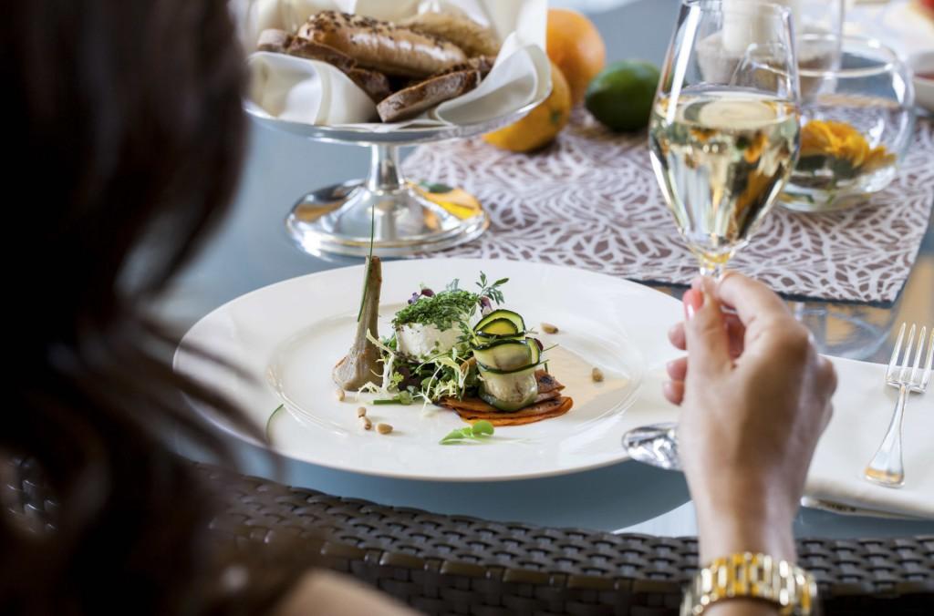 Leichte und saisonal geprägte Speisen zum Lunch oder Dinner