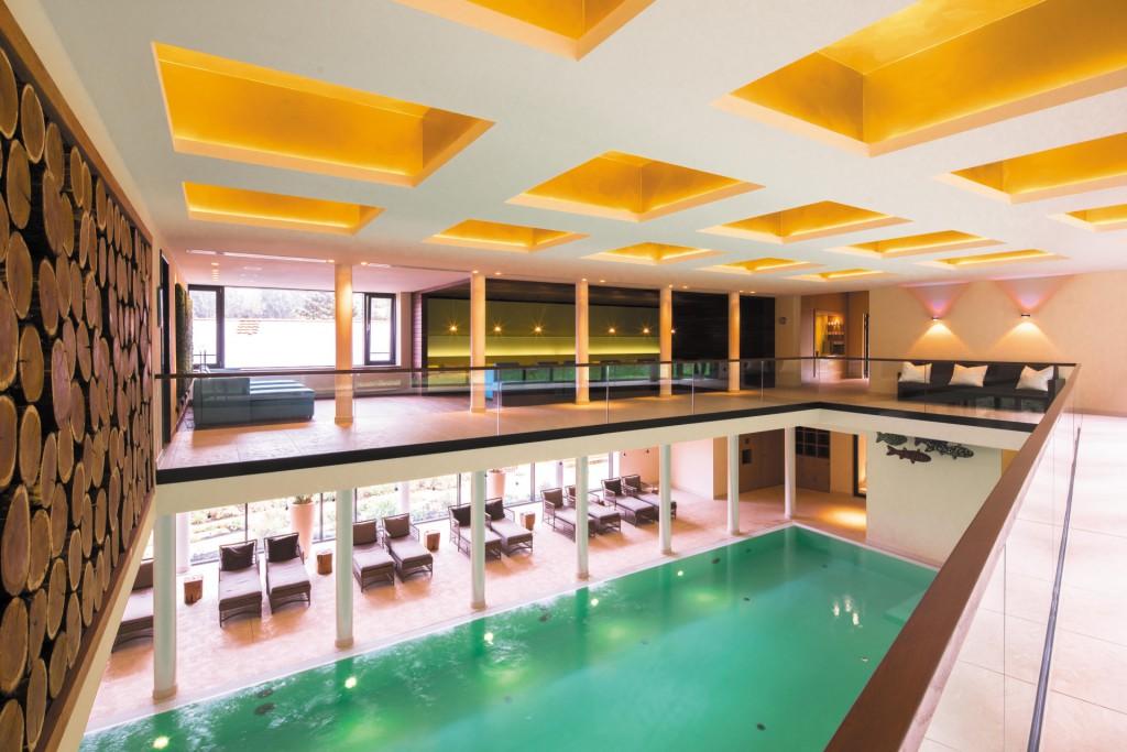 Ort der Entspannung nach einer Tagung - Pool Waldquelle