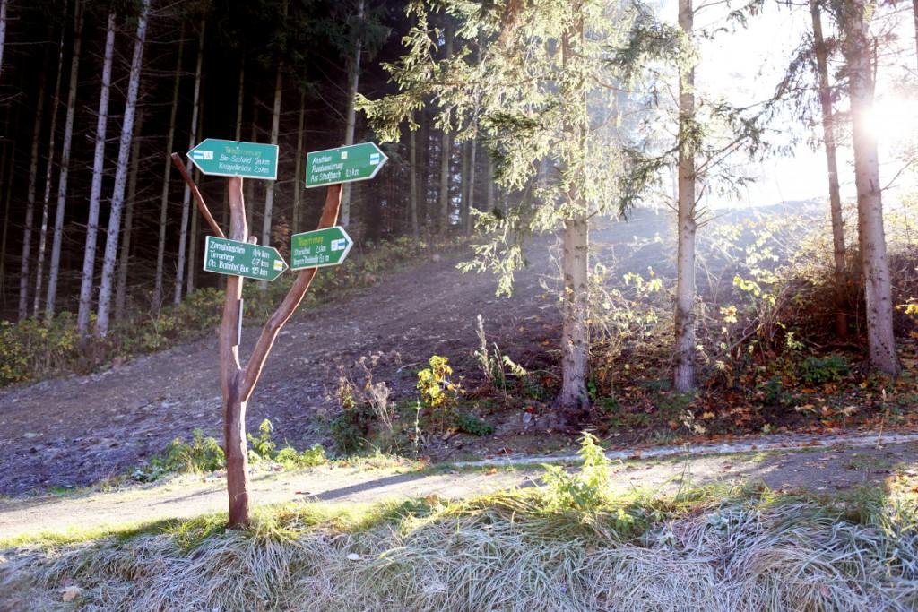 romantische Wander- und Radwege rund um das Bio-Seehotel