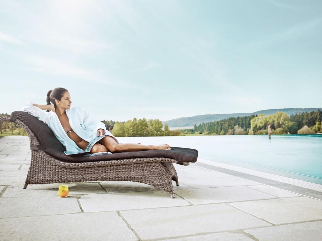 Entspannung und Wellness-Genuss