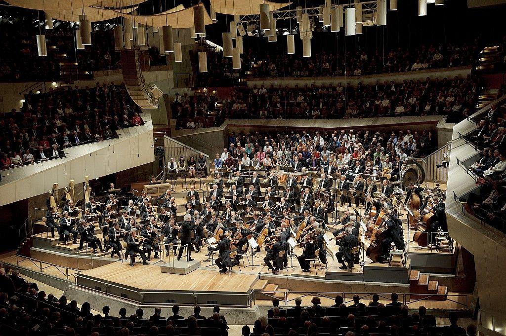 Das Weltklasse-Orchester aus Berlin in Aktion