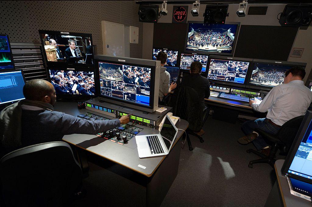 Das Studio der Digitalen Konzerthalle