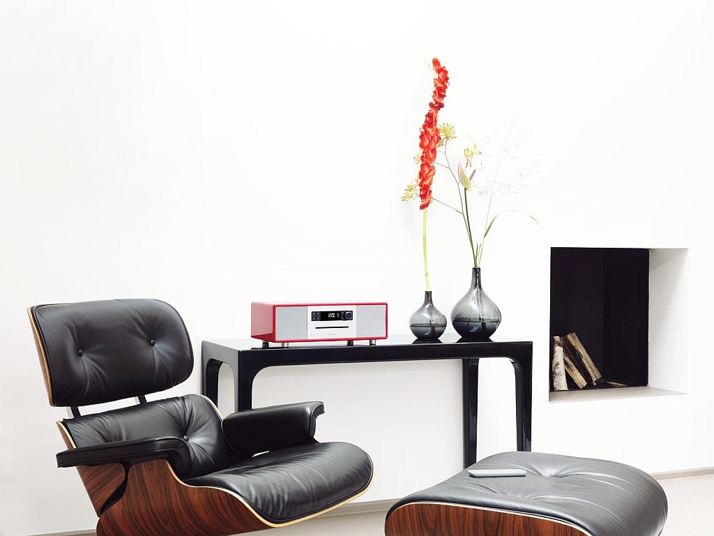 """Entspannt Musik genießen: """"sonoroSTEREO red"""" für den """"Livingroom"""""""