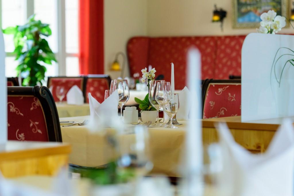 Kulinarische Genüsse im Landhausrestaurant