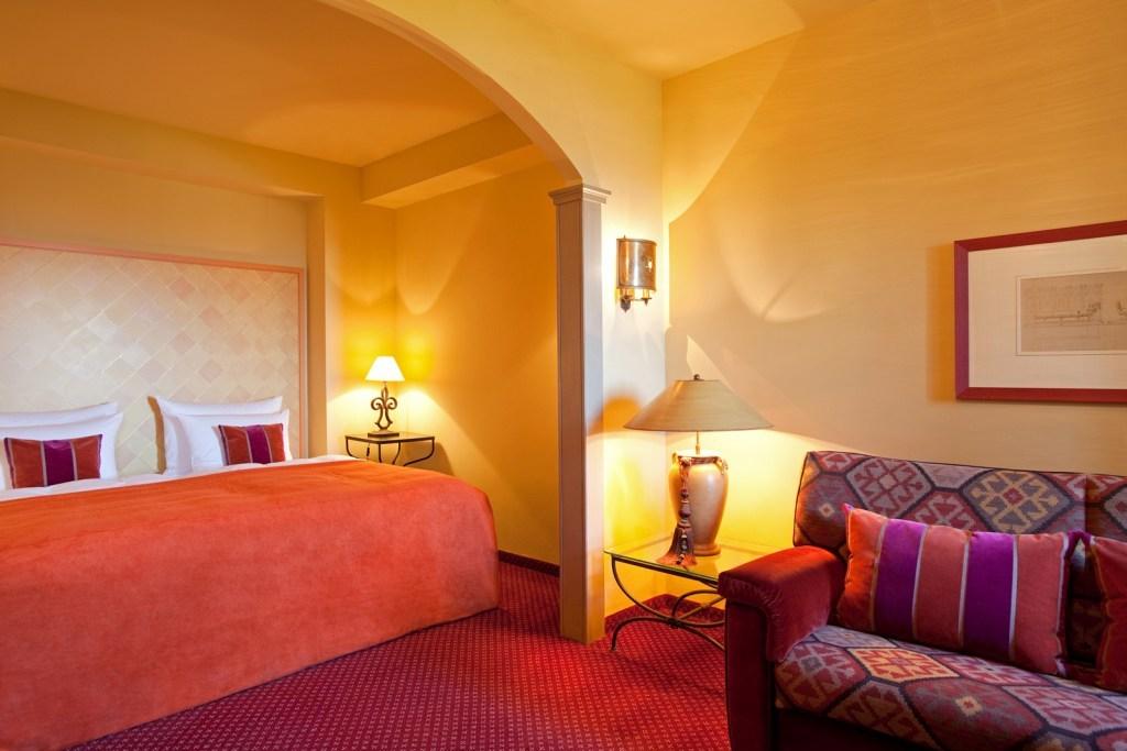 Individuell gestaltete Hotelzimmer