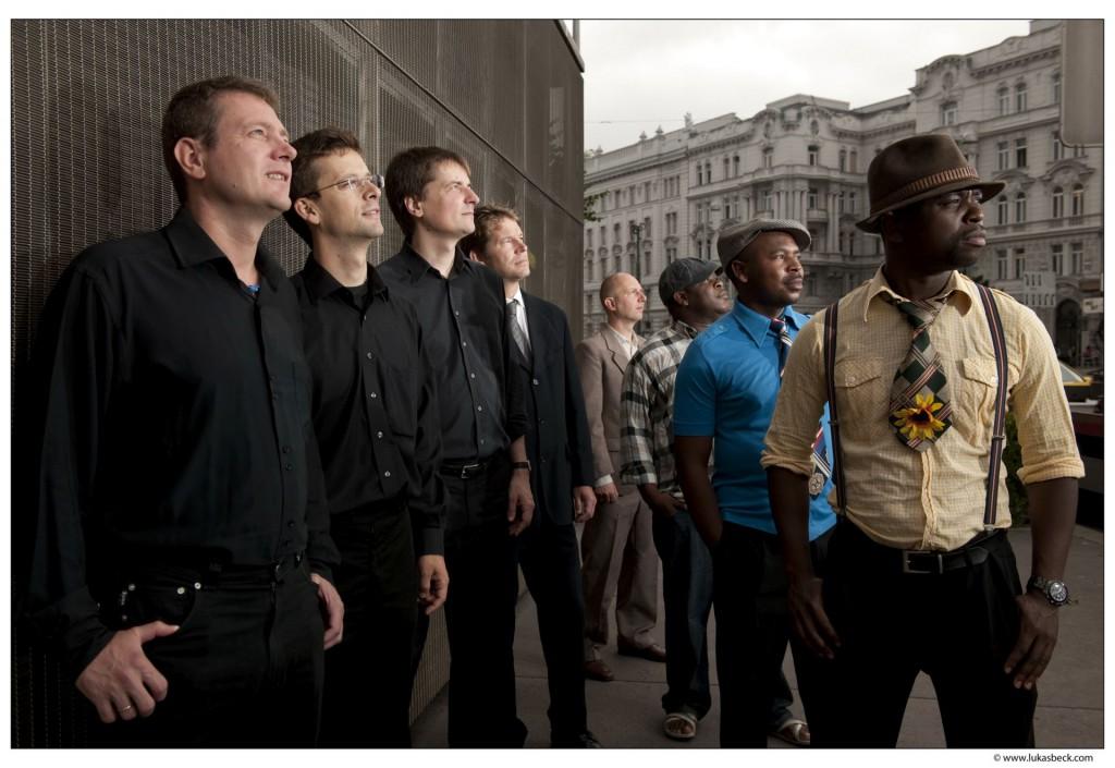 Preisträger-Ensemble MoZuLuArt aus Südafrika