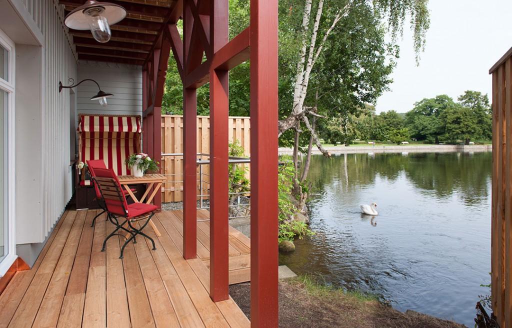 Badehaus-Suite direkt am See gelegen
