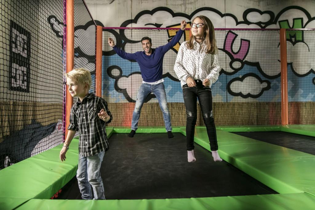 Viel Spaß und Bewegung  im neuen Indoor-Action-Park