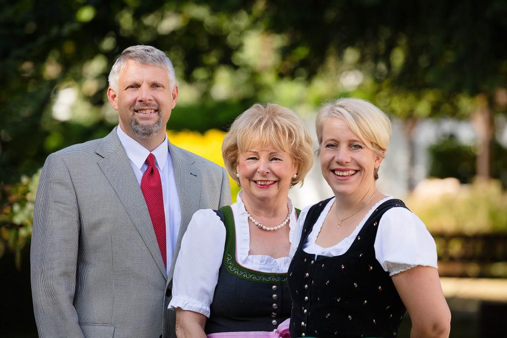 Die Gastgeber-Familie Bartels führen das Haus in 5. Generation