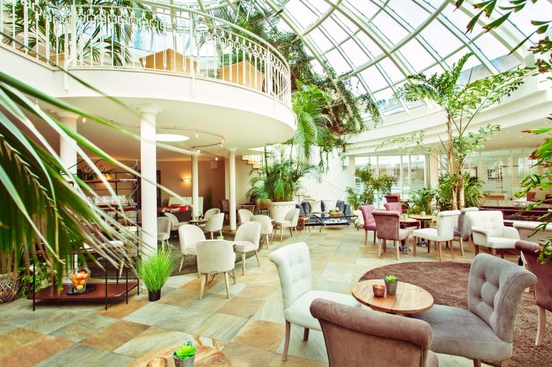 Der Palmengarten als Ort des Genusses und der Entspannung