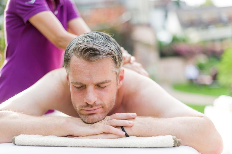 Bei einer Massage den Kopf frei bekommen