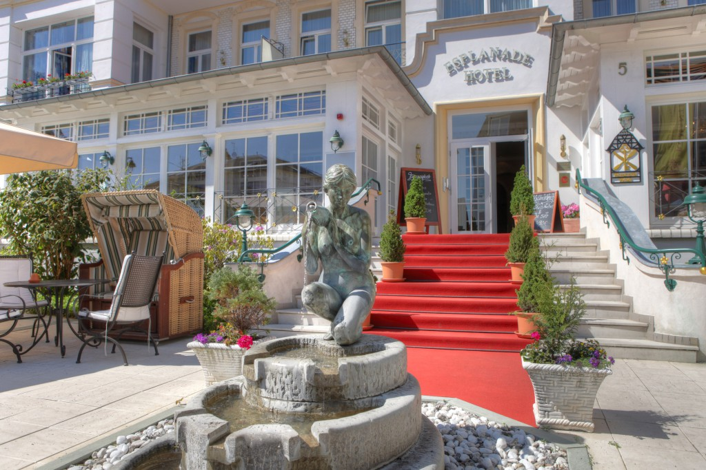 SEETELHOTEL Romantik Hotel Esplanade bezaubert mit besonderer historischer Atmosphäre