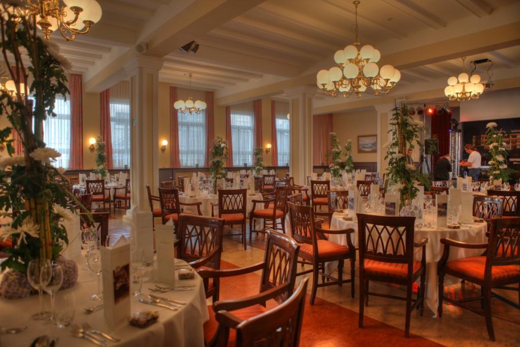 Edles Ambiente im historischen Ballsaal