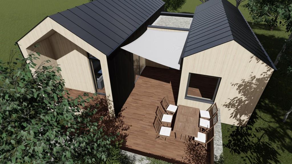 Architektenfoto eines MANOAH-Hauses