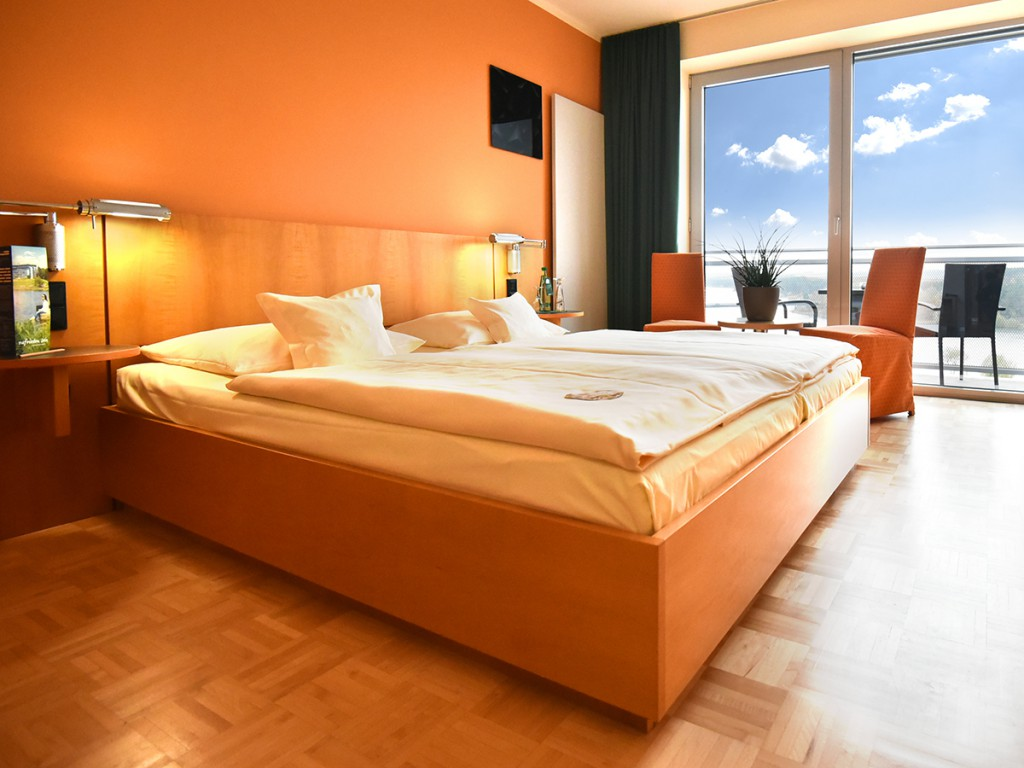 Natürlicher Schlaf - die Zimmer entsprechen höchsten ökologischen Standards