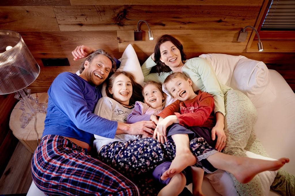 Hier sind Familien glücklich
