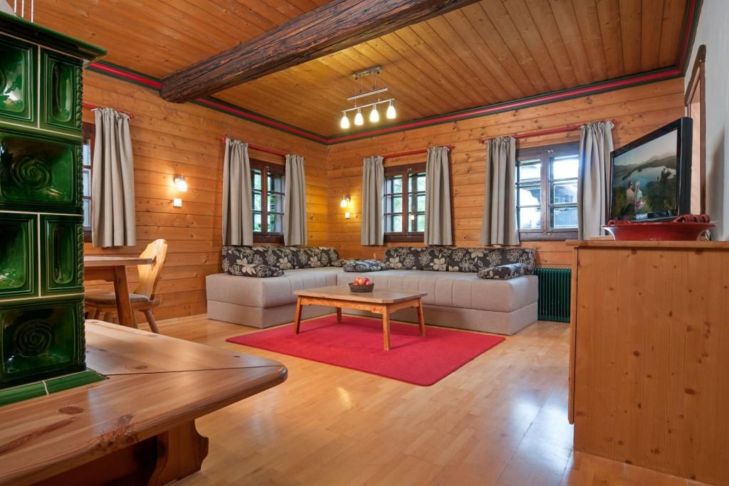 Die Appartements im Hoteldorf Schönleitn sind ideal für Familien