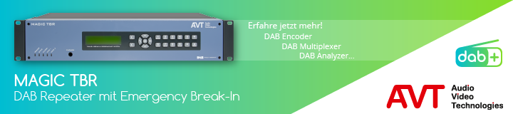 MAGIC TBR - DAB Repeater mit Emergency Break-In